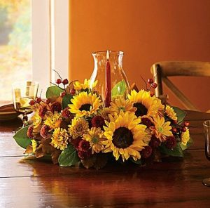 Thanksgiving Flower Arrangement Ideas